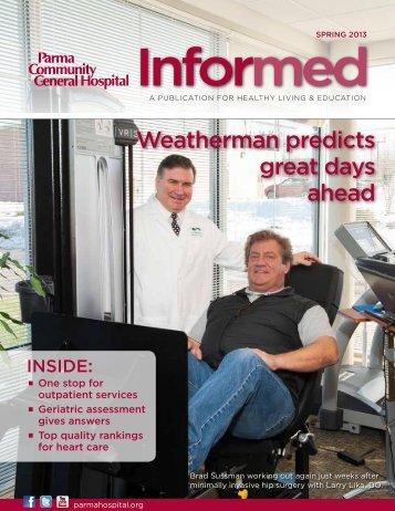 Informed Spring 2013.pdf - Parma Community General Hospital