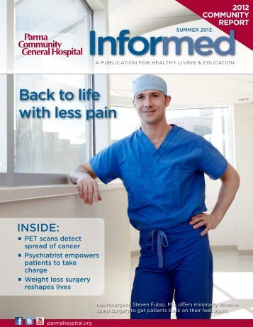 Informed Summer 2013.pdf - Parma Community General Hospital