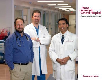 Because we care. - Parma Community General Hospital