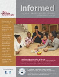 Informed Magazine Spring 2012.pdf - Parma Community General ...
