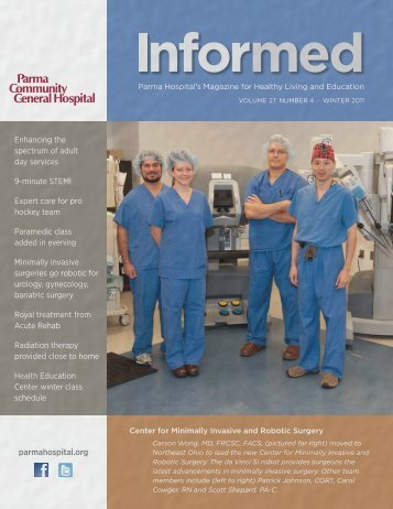 Informed Magazine Winter 2011.pdf - Parma Community General ...