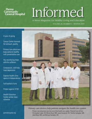 Informed Magazine - Winter 2009.pdf - Parma Community General ...