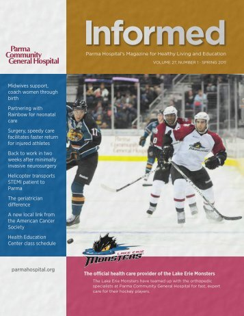 Parma Hospital's Magazine for Healthy Living and Education