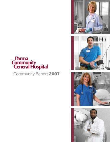 Community Report 2007 - Parma Community General Hospital