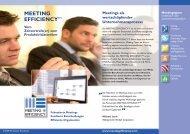 MEETING EFFICIENCYTM - Parmenides Foundation