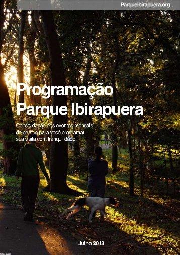 informações do parque ibirapuera