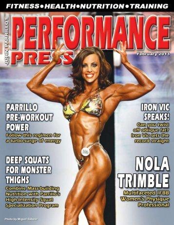 Performance Press / February 2013 - Parrillo Performance