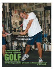 A Revolutionary New Training Approach for Golf - Parrillo Performance