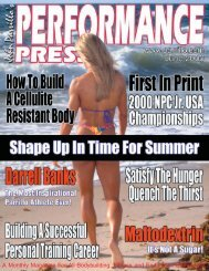 A Monthly Magazine For All Bodybuilding, Fitness And - Parrillo ...