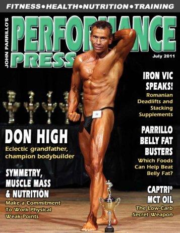 Performance Press / July 2011 - Parrillo Performance