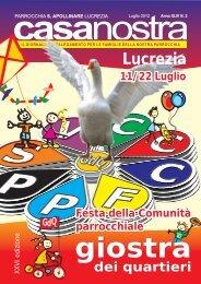 scarica PDF (13,3 MB) - Parrocchia Sant'Apollinare Lucrezia