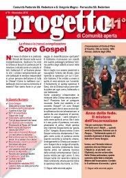 Coro Gospel - Parrocchia SS. Redentore