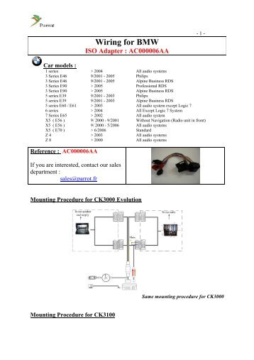 Amazing parrot wiring harness contemporary best image wire amazing parrot wiring harness contemporary best image schematics greentooth Choice Image
