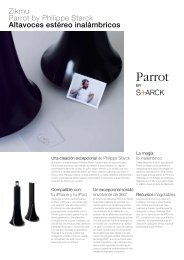 Zikmu Parrot by Philippe Starck Altavoces estéreo inalámbricos