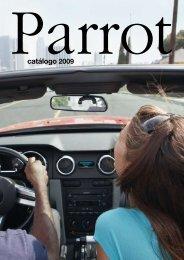 catálogo 2009 - Parrot
