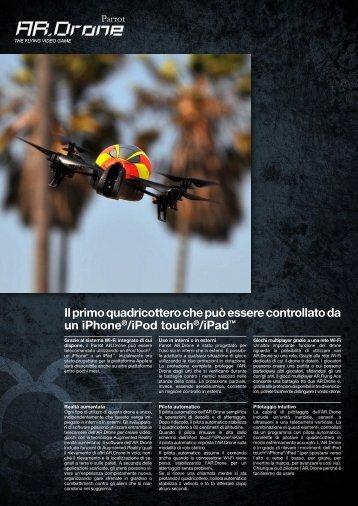 Il primo quadricottero che può essere controllato da un ... - Parrot