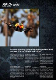 De eerste quadricopter die kan worden bestuurd met een ... - Parrot