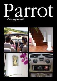Catalogue 2010 - Parrot
