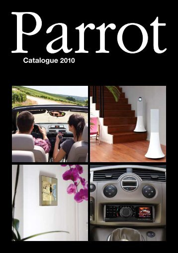 Catalogue 2010 - Parrot