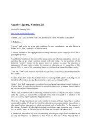 Apache v2 - Parrot