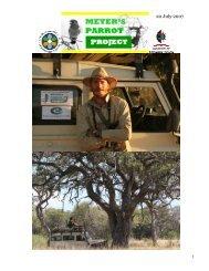20 July 2007 - World Parrot Trust