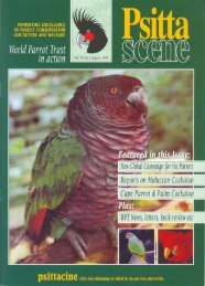 1 - World Parrot Trust