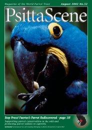 Psitta Scene - World Parrot Trust