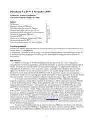 PsittaScene Vol 19 Nº 4 Noviembre 2007 - World Parrot Trust