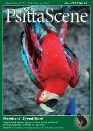 Parrots in the Wild - World Parrot Trust