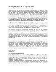 PSITTASCENE, Band 19, Nr. 3, August 2007 - World Parrot Trust