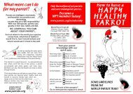 Happy, Healthy Parrot 08:Layout 1.qxd - World Parrot Trust