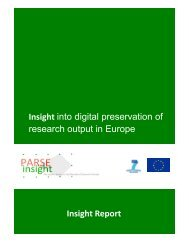 Insight Report (June 2010, PARSE.Insight)