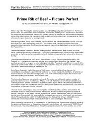 Prime Rib of Beef – Picture Perfect - Paradigm Shift International