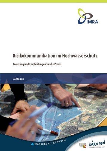 Risikokommunikation im Hochwasserschutz - Umweltbundesamt