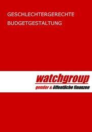 Watchgroup. Gender und öffentliche Finanzen (.pdf) - Partizipation
