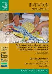 International expert workshop and conference - Partizipation
