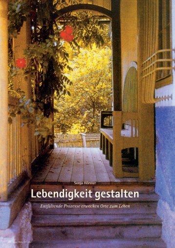 ArtikelLebendigkeitgestalten.pdf (862KB) - Institut für Partizipatives ...