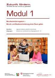 Berufs- und Studienorientierung einen Raum geben