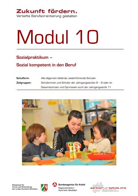 Sozialpraktikum – Sozial kompetent in den Beruf - Stiftung Partner ...