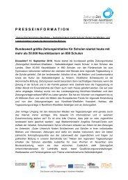 presseinformation - Stiftung Partner für Schule NRW ...