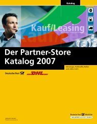 Der Partner-Store Katalog 2007