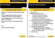 (0) 30 754 73 – 34 02 2.1 Service-Hotline der DP Fleet - Partner-Store