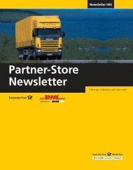 Partner-Store Newsletter I/03
