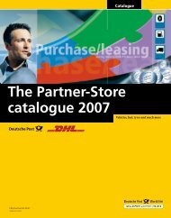 The Partner-Store catalogue 2007