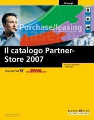 Il catalogo Partner- Store 2007