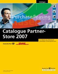 Catalogue Partner- Store 2007
