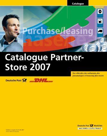 Catalogue Partner- Store 2007