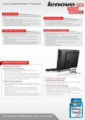 INNOVATE. SUCCEED. SAVE. ThE LENOVO® ThINkCENTRE ... - Page 2