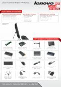 INNOVATE. SUCCEED. SAVE. ThE LENOVO® ThINkCENTRE ... - Page 3