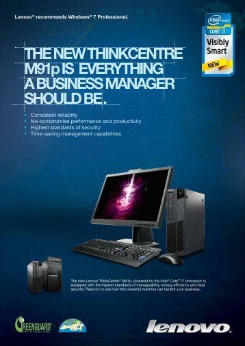 THE NEW THINKCENTRE M91p IS EVERYTHING A BUSINESS ...